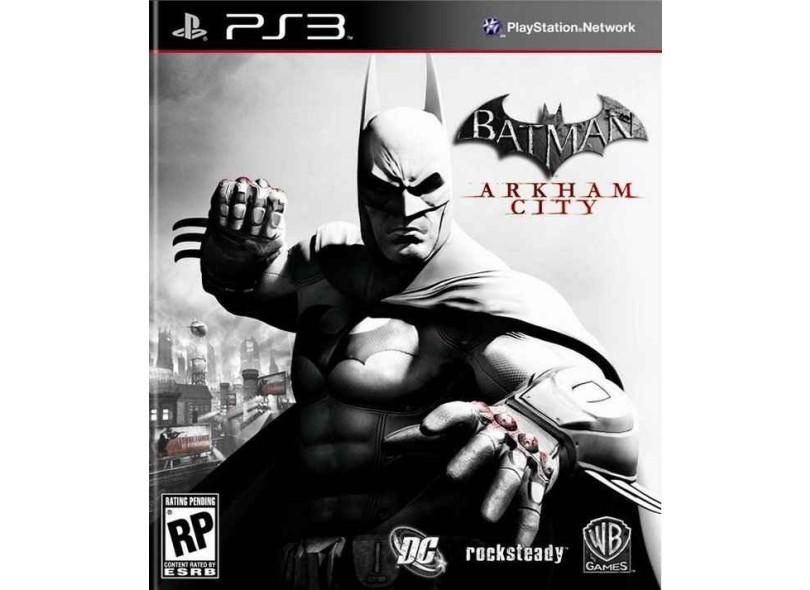 Jogo Batman  Arkham City PlayStation 3 Warner Bros 45da0a637e4