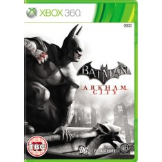 Foto Jogo Batman Arkham City Xbox 360 Warner Bros