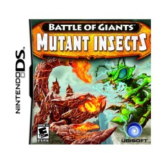 Foto Jogo Battle of Giants: Mutant Insects Ubisoft Nintendo DS