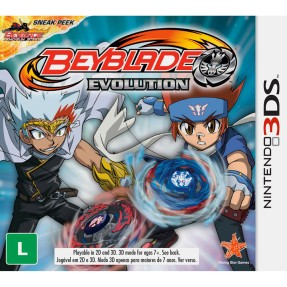 Foto Jogo Beyblade Evolution D3 Publisher Nintendo 3DS