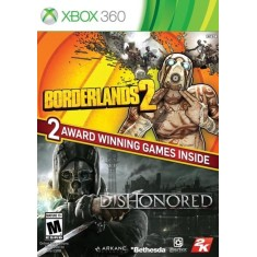 Foto Jogo Borderlands 2 & Dishonored Bundle Xbox 360 2K