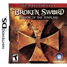 Foto Jogo Broken Sword The Shadow of the Templars Ubisoft Nintendo DS