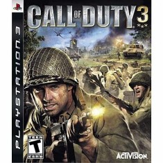 Foto Jogo Call of Duty 3 PlayStation 3 Activision