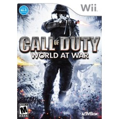 Foto Jogo Call of Duty 5: World at War Wii Activision