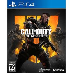 Foto Jogo Call Of Duty Black Ops 4 PS4 Activision
