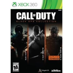 Foto Jogo Call of Duty Black Ops Collection Xbox 360 Activision
