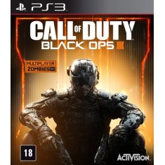 Jogo Call of Duty: Black Ops III PlayStation 3 Activision
