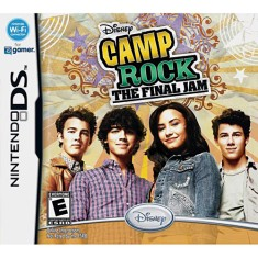 Foto Jogo Camp Rock The Final Jam Disney Nintendo DS