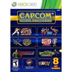 Foto Jogo Capcom Digital Collection Xbox 360 Capcom