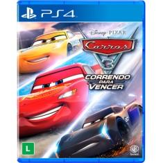 Jogo Carros 3 Correndo Para Vencer PS4 Warner Bros