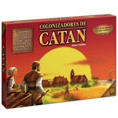 Jogo Colonizadores do Catan Grow