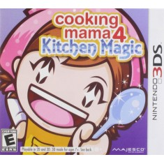 Foto Jogo Cooking Mama 4: Kitchen Magic Majesco Entertainment Nintendo 3DS