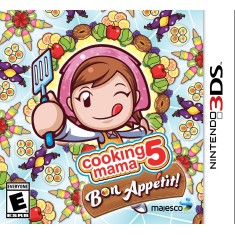 Foto Jogo Cooking Mama 5: Bon Appétit! Majesco Entertainment Nintendo 3DS