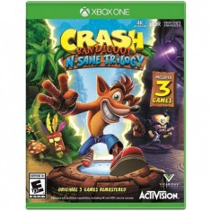 Foto Jogo Crash Bandicoot N. Sane Trilogy Xbox One Activision