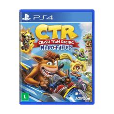 Jogo Crash Team Racing Nitro Fueled PS4 Activision