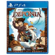 Jogo Deponia PS4 Nordic Games