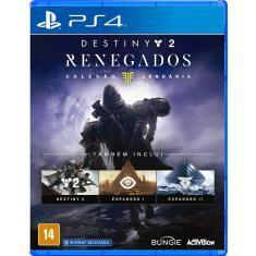Jogo Destiny 2 Renegados PS4 Activision