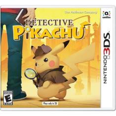 Jogo Detective Pikachu Nintendo 3DS