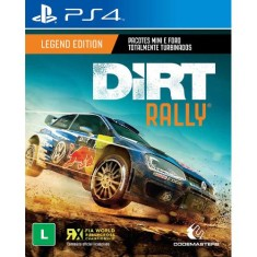 Foto Jogo Dirt Rally PS4 Codemasters