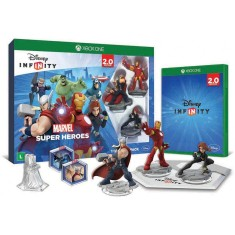 Foto Jogo Disney Infinity 2.0 Marvel Super Heroes Xbox One Disney
