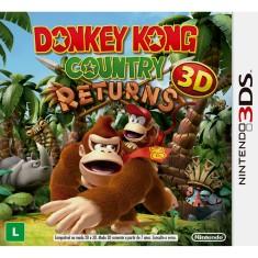 Jogo Donkey Kong Country Returns 3D Nintendo 3DS