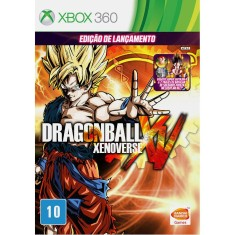 Foto Jogo Dragon Ball Xenoverse Xbox 360 Bandai Namco