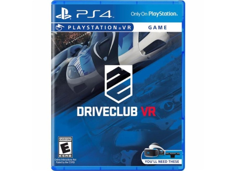 a4fd78a78 Jogo Drive Club VR PS4 Sony