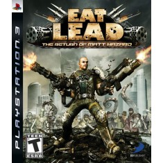 Foto Jogo Eat Lead: The Return Of Matt Hazard PlayStation 3 D3 Publisher