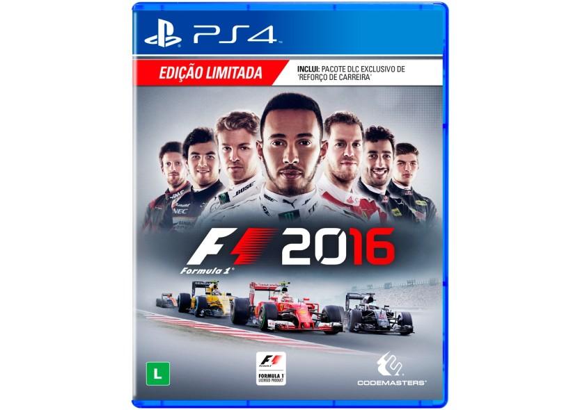 Jogo F1 2016 PS4 Codemasters 4218894b0b6d2
