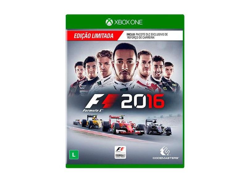 Jogo F1 2016 Xbox One Codemasters 3d32259266c9f