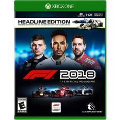Jogo F1 2018 Xbox One Codemasters