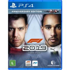 Jogo F1 2019 PS4 Codemasters