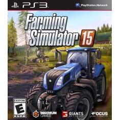 Jogo Farming Simulator 15 PlayStation 3 Focus