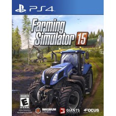 Foto Jogo Farming Simulator 15 PS4 Focus