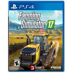 Foto Jogo Farming Simulator 17 PS4 Focus