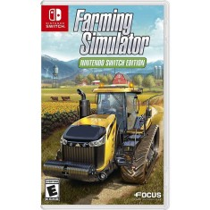 Jogo Farming Simulator Focus Nintendo Switch