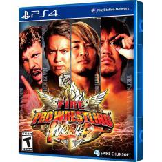 Jogo Fire Pro Wrestlin World PS4 Zeex