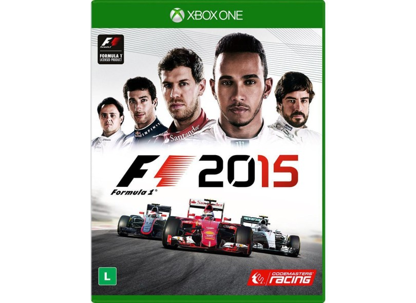 Jogo Formula 1 2015 Xbox One Codemasters 7b37a09347aab