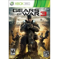 Jogo Gears of War 3 Xbox 360 Microsoft