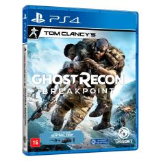 Jogo Ghost Recon Breakpoint PS4 Ubisoft