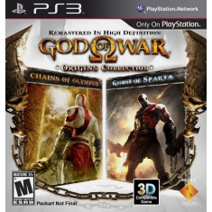 Foto Jogo God Of War: Origins Collection PlayStation 3 Sony