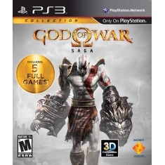 Foto Jogo God Of War Saga PlayStation 3 Sony