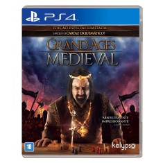 Foto Jogo Grand Ages Medieval PS4 Kalypso Media