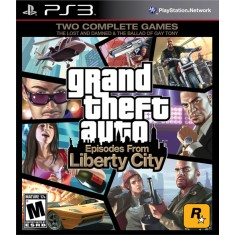 Foto Jogo Grand Theft Auto: Episodes From Liberty City PlayStation 3 Rockstar