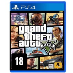 Foto Jogo Grand Theft Auto V PS4 Rockstar