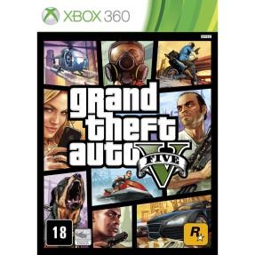 Jogo Grand Theft Auto V Xbox 360 Rockstar