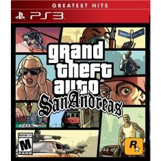 Foto Jogo GTA San Andreas PlayStation 3 Rockstar