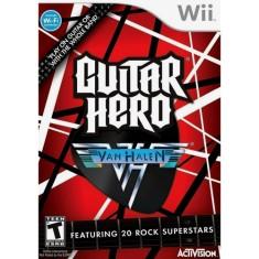 Jogo Guitar Hero Van Halen Wii Activision