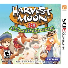Foto Jogo Harvest Moon 3D: A New Beginning Natsume Nintendo 3DS