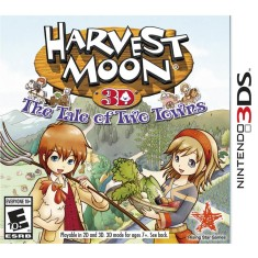 Foto Jogo Harvest Moon 3D: The Tale of Two Towns Rising Star Games Nintendo 3DS